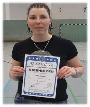 Berlin-Brandenburg-Meisterschaft 2012 - 2. Platz Janine